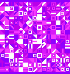 Colorful geometric pattern background - abstract vector