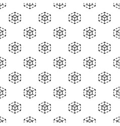 cube space pattern seamless vector image