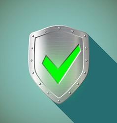 Green mark stock vector