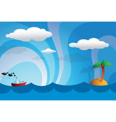 island playset vector image