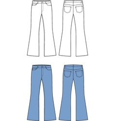 Jeans vector