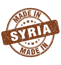 Made in syria vector