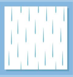 Rain drops seamless pattern background vector