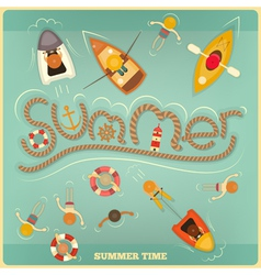 Sea Summer vector image