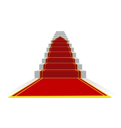 success ladder vector image