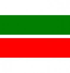 tatarstan flag vector image