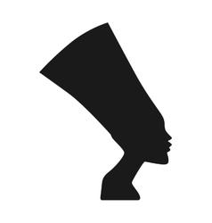 Traditional symbols egypt sphinx head vector