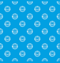 Vr arena pattern seamless blue vector