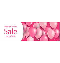 Womens day 8 march holiday celebration shopping vector