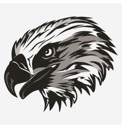 Eagle head logo vector image vector image
