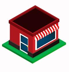 Isometric Shop vector image