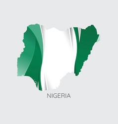 Map nigeria vector
