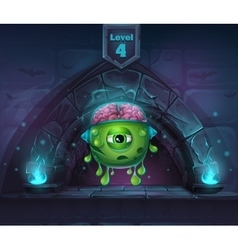 Monster with brains in arch magic in next 4th vector