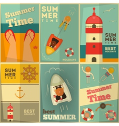 Sea Summer Holidays vector image