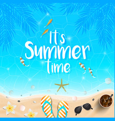 summer background 2018 8 vector image