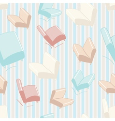 Sofa and chair background pattern vector image vector image