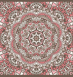 Abstract vintage ethnic seamless pattern vector