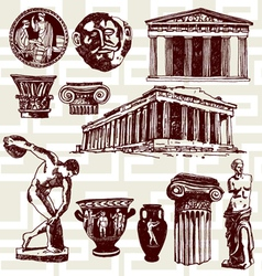 Ancient Greece vector