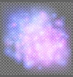 Bright cosmic nebula vector