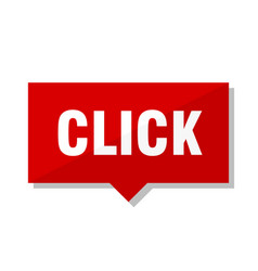 Click red tag vector