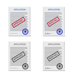 Design of form and document symbol vector