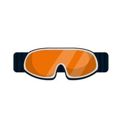 ski accessory equipment icon vector image