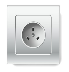 socket isolated electric item house wiring and vector image