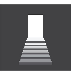 steps to success vector image
