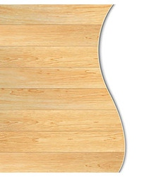 Wood Poster vector image