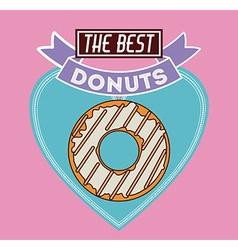 Donuts Shop design vector image