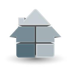 symbol house design vector image vector image