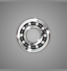 Bearings metal vector