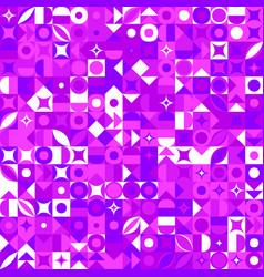 Chaotic geometric pattern background - colorful vector