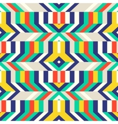 Colorful op art pattern vector