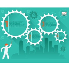 for infographics vector image