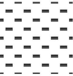 regal crown pattern vector image