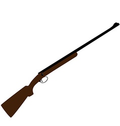 Hunting rifle vector image vector image