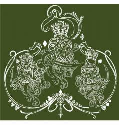 king of kings illustration vector image