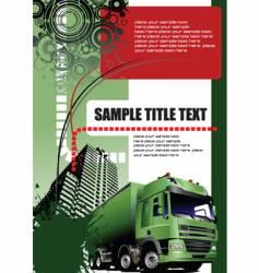 urban illustration vector image vector image