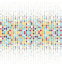 Background with the coloured circles in a vector image