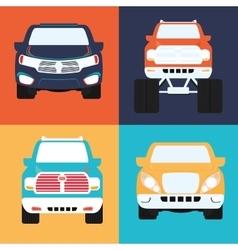 Cars concept design vector