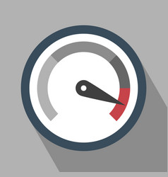 Gauge icon vector