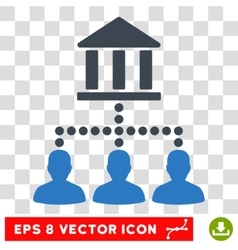 Library Client Links Eps Icon vector image