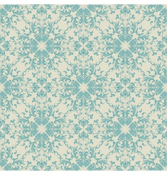 seamless floral vintage background abstract vector image
