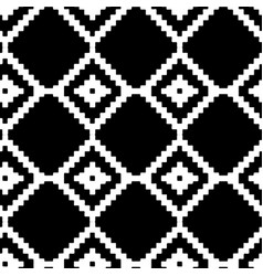 abstract seamless pattern with black vector image