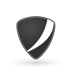 Black identity badge label emblem logo or badge vector