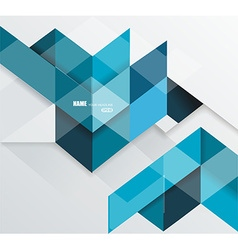 Blue geometrical abstract lines structure vector