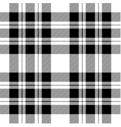Check diagonal texture black white seamless vector