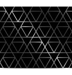 Forged Seamless Background with Triangles vector image