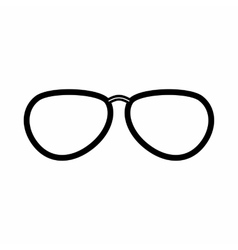 Glasses icon outline style vector image vector image